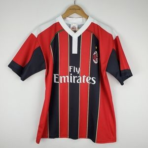 Fly Emirates soccer jersey